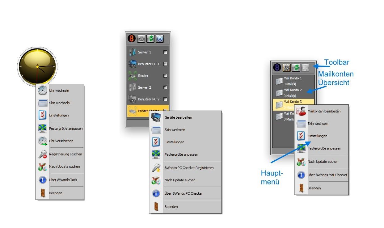 8Wands Desktop
